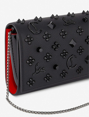 Christian Louboutin Paloma leather clutch bag