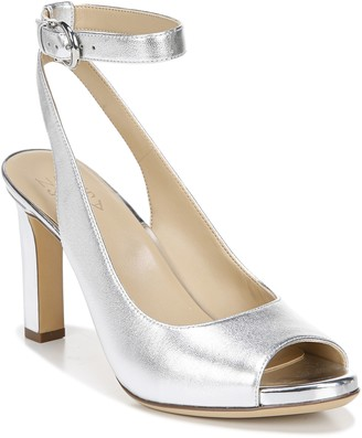 Naturalizer Leather Ankle-Strap Slingbacks - Orella