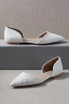 BHLDN Ischia Flats By in White Size 7