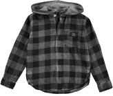 Molo Youth Boy's Rick Long Sleeve Shirt - Iron Gate