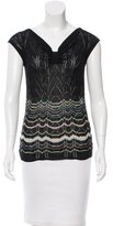 M Missoni Sleeveless Patterned Top w/ Tags