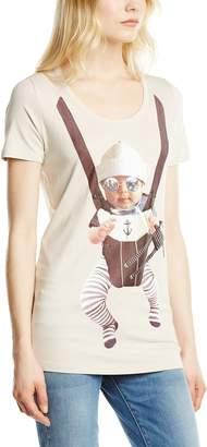 Queen Mum Women's's Viscose Printed Shirts T