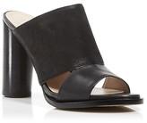 French Connection Slide Sandals - Ursie High Heel Mule