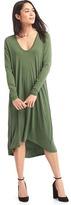 Gap Long sleeve swing dress