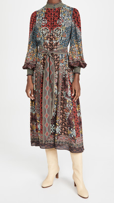 Alice + Olivia Brielle Button Down Kimono Dress