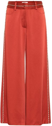 Peter Pilotto High-rise wide-leg satin pants