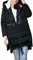 Pop lover Women's Winter Parka Coat Overcoat Down Jacket Outerwear XXL