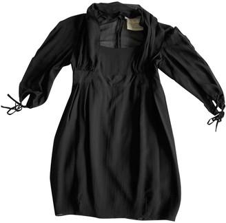 Anne Valerie Hash Black Silk Dresses
