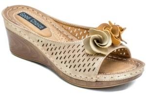 GC Shoes Juliet Wedge Sandal Women's Shoes