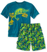 L.L. Bean Boys' Jersey-Knit PJs, Shorts
