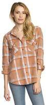 RVCA Women's Plaid Flannel Shirt