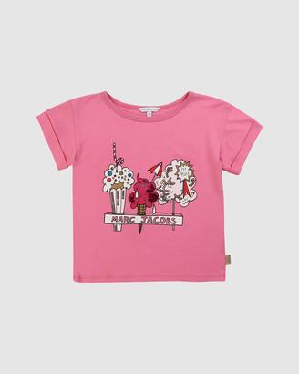 Little Marc Jacobs Ice Cream T-Shirt - Kids-Teens