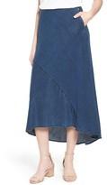 Nic+Zoe Women's Denim Days High/low Skirt