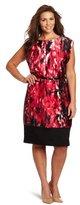 Anne Klein Women's Plus-Size Wedge Dress