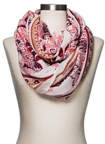 Merona Women's Fashion Scarf Floral Pink