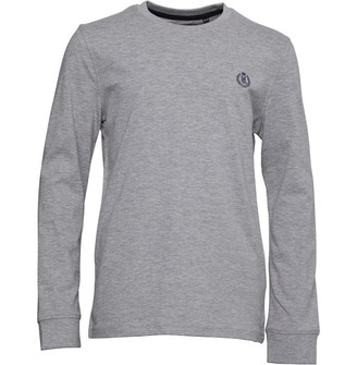Henri Lloyd Junior Boys Radar Club Long Sleeve T-Shirt Vintage Grey Heather