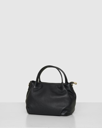 Bee Women's Black Leather bags - The Poppy Crossbody - Size One Size at The Iconic