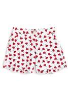 Oscar de la Renta Girl's Carnation Bud Shorts