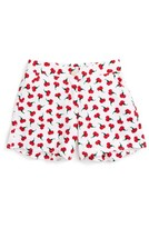Oscar de la Renta Toddler Girl's Carnation Bud Shorts
