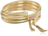Vince Camuto Tassel Coil with Chain Bracelet