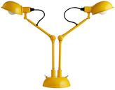 Habitat Tommy Twin Head Desk Lamp - Yellow