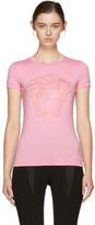 Versace Pink Studded Medusa T-Shirt