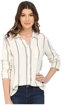 Sanctuary Tailored Boyfriend Shirt w/ Single Pocket