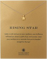 "Dogeared Reminders"" Rising Star and Full Star Reminder Necklace"