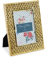 Oscar de la Renta Brass Heart Frame, 4x6