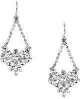 Cezanne Rhinestone Crystal Swing Chandelier Earrings