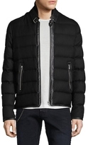 The Kooples Light Flanne Wool Puffer Jacket
