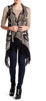Romeo & Juliet Couture Long Fringe Vest