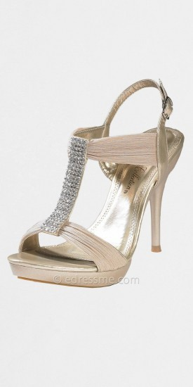 High Heel Open Toe Platform Sandals by Camille La Vie