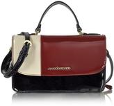 Roccobarocco Medium Patent Eco Leather Satchel Bag