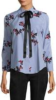 Marc Jacobs Women's Gingham Floral Shirt