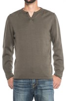 Vintage 1946 Two-Button Henley Sweater (For Men)