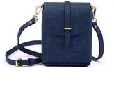 Atelier Hiva Astrum Straw Leather Bag Navy