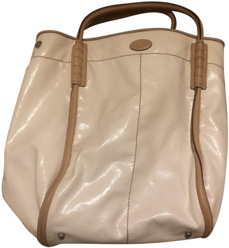 Tod's White Patent leather Handbags