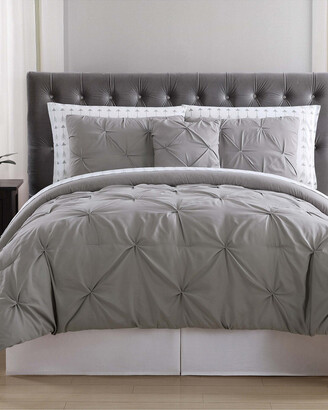 Truly Soft Arrow Pleated Bed Comforter