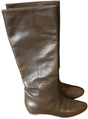 Loeffler Randall Brown Leather Boots