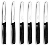 Victorinox Steak Knife Set - Black Handles