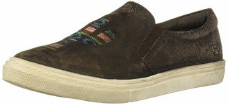 Roper Women's Mane Cactus Loafer Flat Brown 10.5 D US
