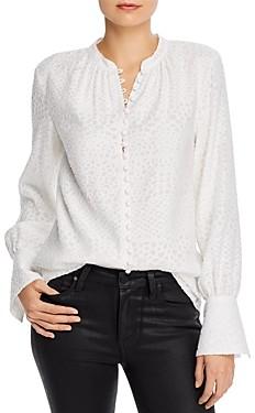 Joie Tariana Textured Button-Down Shirt