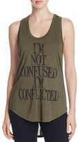 Haute Hippie Confused Scoop Tank