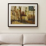 Crate & Barrel Twilight Central Park Print