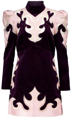 Zimmermann Ladybeetle Mystic velvet minidress