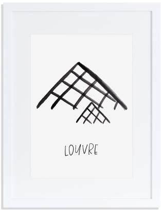 Annie Montgomery Design Louvre Print