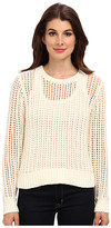 MICHAEL Michael Kors L/S Hi/Low Hem Sweater