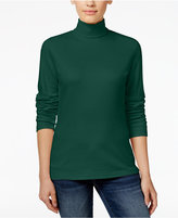Karen Scott Petite Turtleneck Top, Only at Macy's