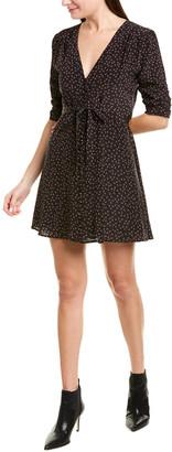 Nicholas Ditsy Rose Silk A-Line Dress